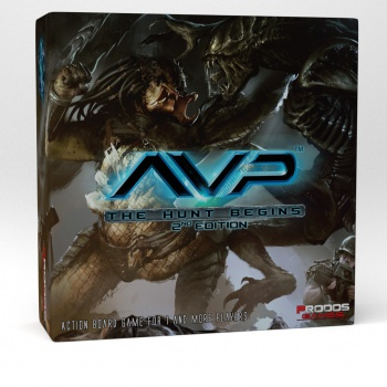 Maxireves Aliens vs Predator The hunt Begins 2ème édition en VO