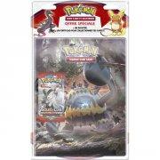 Maxireves Pack Pokemon Cahier range cartes + booster SL4