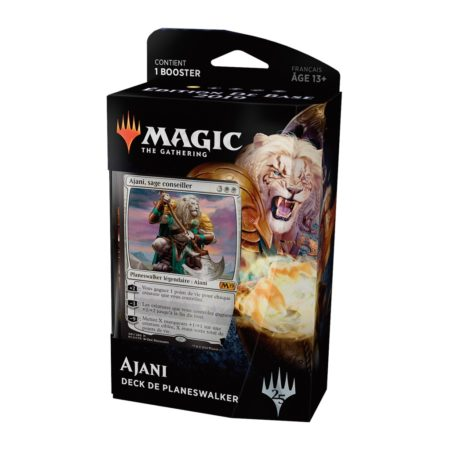 Maxireves Deck Planeswalker Ajani Core Set 2019 FR