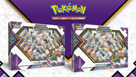 Maxireves Coffret Pokemon Boreas Fulguris GX