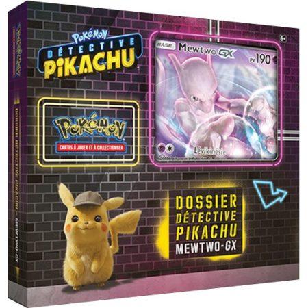 Maxireves Coffret Pokemon Detective Pikachu Mewtwo GX