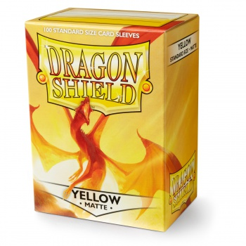 Maxireves Dragon shields Matte Jaune