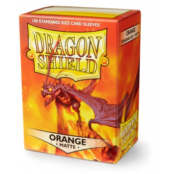 Maxireves Dragon shields Matte orange