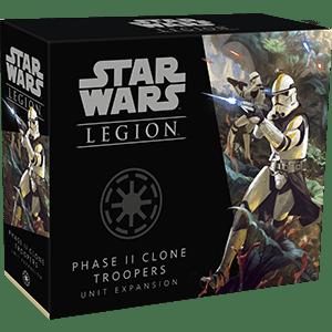 Maxireves Phase II Clone troopers VO